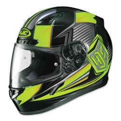 HJC CL-17 Striker Hi-Viz/Black Full Face Helmet