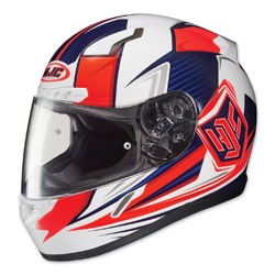 HJC CL-17 Void Red/White/Blue Full Face Helmet