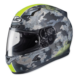 HJC CL-17 Void Camo/Hi-Viz Full Face Helmet
