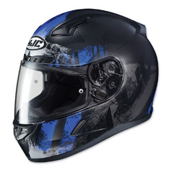 HJC CL-17 Arica Blue/Black Full Face Helmet