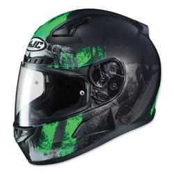HJC CL-17 Arica Neon Green/Black Full Face Helmet