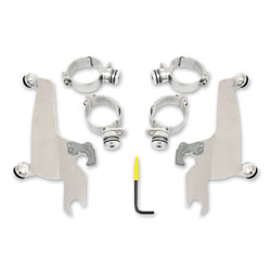 Memphis Shades Sportshield Polished Trigger Lock Mount Kit