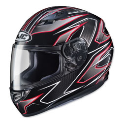 HJC CS-R3 Spike Red/Black Full Face Helmet