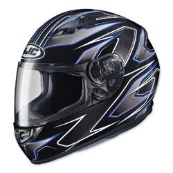 HJC CS-R3 Spike Blue/Black Full Face Helmet