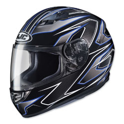 HJC CS-R3 Spike Blue/Black Full Face Helmet