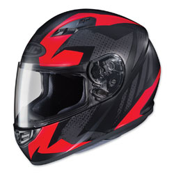 HJC CS-R3 Treague Black/Red Full Face Helmet