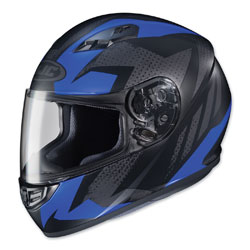 HJC CS-R3 Treague Blue/Gray Full Face Helmet