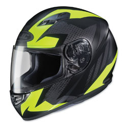 HJC CS-R3 Treague Hi-Viz/Gray Full Face Helmet
