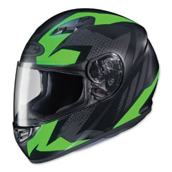 HJC CS-R3 Treague Neon Green/Gray Full Face Helmet