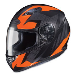 HJC CS-R3 Treague Orange/Gray Full Face Helmet
