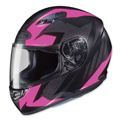 HJC CS-R3 Treague Pink/Gray Full Face Helmet