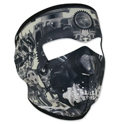 ZAN headgear Neoprene Sprocket Skull Full Mask