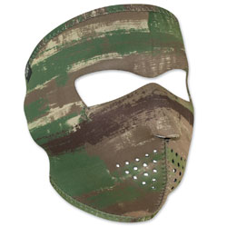 ZAN headgear Neoprene Multi Brushed Camo Full Mask