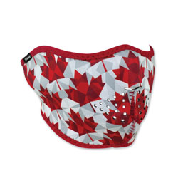 ZAN headgear Neoprene Canadian Pride Half Mask