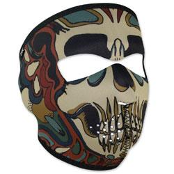ZAN headgear Neoprene Psychedelic Skull Full Mask
