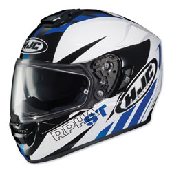 HJC RPHA ST Rugal White/Blue/Black Full Face Helmet