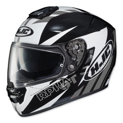 HJC RPHA ST Rugal Black/White/Gray Full Face Helmet