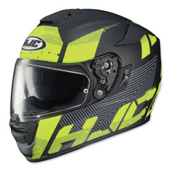 HJC RPHA ST Knuckle Hi-Viz/Gray Full Face Helmet