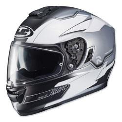 HJC RPHA ST Zaytun Silver/White/Black Full Face Helmet