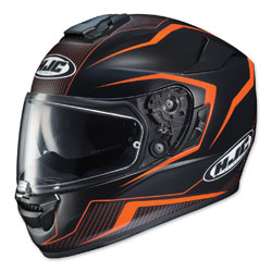 HJC RPHA ST Dabin Matte Black/Orange Full Face Helmet