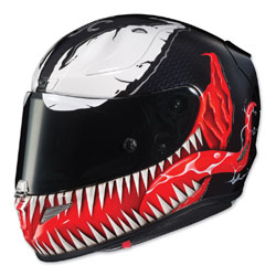 HJC RPHA 11 Pro Venom Red/Black Full Face Helmet