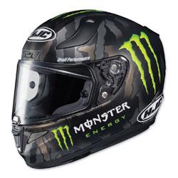 HJC RPHA 11 Pro Monster Green/White Full Face Helmet