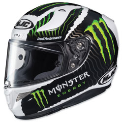 HJC RPHA 11 Pro Monster Green/White Full Face Helmet