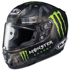 HJC RPHA 11 Pro Monster Camo/Green Full Face Helmet