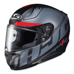 HJC RPHA 11 Pro Spicho Silver/Red Full Face Helmet