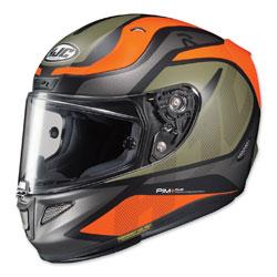 HJC RPHA 11 Pro Deroka Orange/Green Full Face Helmet