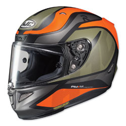 HJC RPHA 11 Pro Deroka Orange/Green Full Face Helmet