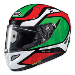 HJC RPHA 11 Pro Deroka Red/Green Full Face Helmet