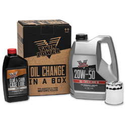 Twin Power Synthetic Oil Change Kit