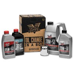 Twin Power Synthetic Oil Change Kit