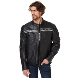 Roland Sands Design Apparel Faster Sons Ronin Black Leather Jacket