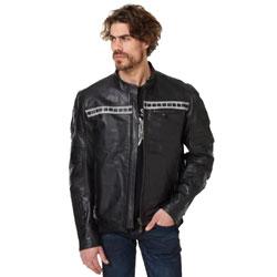 Roland Sands Design Apparel Faster Sons Ronin Black Leather Jacket