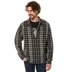 Roland Sands Design Apparel Faster Sons Men's Maverick Plaid Shirt