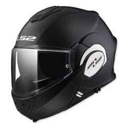 LS2 Valiant Matte Black Modular Helmet