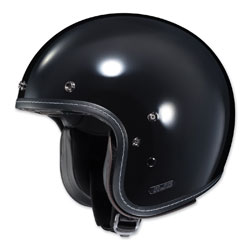HJC IS-5 Gloss Black Open Face Helmet