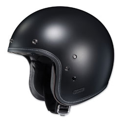 HJC IS-5 Matte Black Open Face Helmet