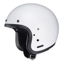 HJC IS-5 Matte White Open Face Helmet