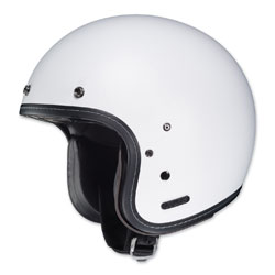 HJC IS-5 Matte White Open Face Helmet