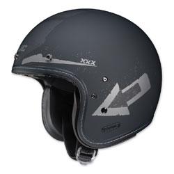 HJC IS-5 Arrow Matte Gray/Silver Open Face Helmet