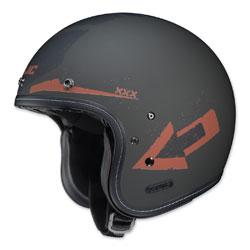 HJC IS-5 Arrow Matte Green/Red Open Face Helmet