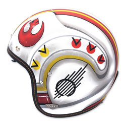 HJC IS-5 X-Wing Fighter Open Face Helmet