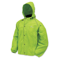 Frogg Toggs Men's Road Toad Lime Green Rain Jacket