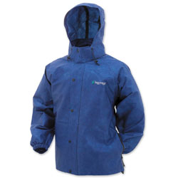 Frogg Toggs Men's Pro Action Royal Blue Rain Jacket