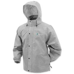Frogg Toggs Men's Pro Action Gray Rain Jacket