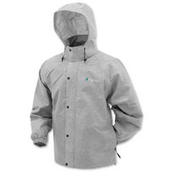 Frogg Toggs Men's Pro Action Gray Rain Jacket