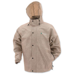 Frogg Toggs Men's Pro Action Tan Rain Jacket